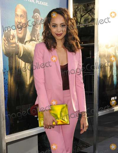 """Amber Stevens-West, Amber Stevens Photo - 27 April 2016 - Hollywood, California - Amber Stevens-West. Arrivals for the Los Angeles Premiere of Warner Bros.' """"Keanu"""" held at ArcLight Hollywood. Photo Credit: Birdie Thompson/AdMedia"""