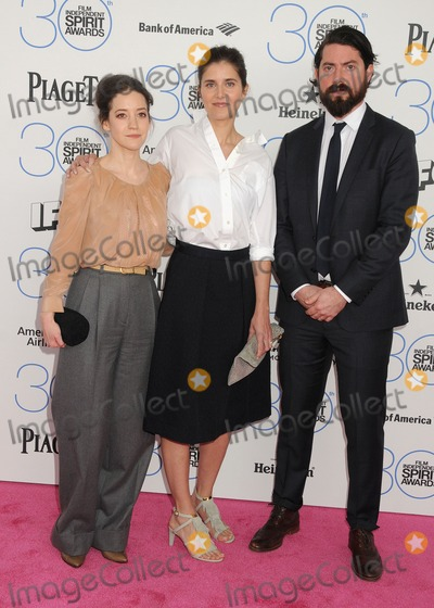 Anja Marquardt, Brooke Bloom Photo - 21 February 2015 - Santa Monica, California - Brooke Bloom, Anja Marquardt. 2015 Film Independent Spirit Awards - Arrivals held at Santa Monica Beach. Photo Credit: Byron Purvis/AdMedia