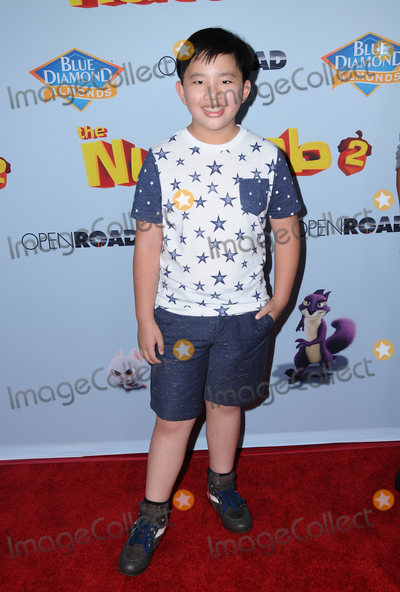 """Albert Tsai Photo - 05 August  2017 - Los Angeles, California - Albert Tsai.  World premiere of """"Nut Job 2: Nutty by Nature""""  held at Regal Cinema at L.A. Live in Los Angeles. Photo Credit: Birdie Thompson/AdMedia"""