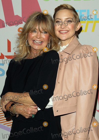 Goldie, Goldie Hawn, Kate Hudson Photo - 16 January 2018 - Pasadena, California - Goldie Hawn and Kate Hudson. Stella McCartney Autumn 2018 Presentation held at S.I.R. Studios in Los Angeles. Photo Credit: AdMedia