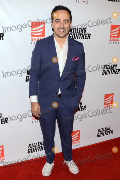 "Amir Talai, TLC Photo - 14 October 2017 - Hollywood, California - AMIR TALAI. ""Killing Gunther"" Los Angeles Premiere held at TLC Chinese Theater. Photo Credit: Billy Bennight/AdMedia"
