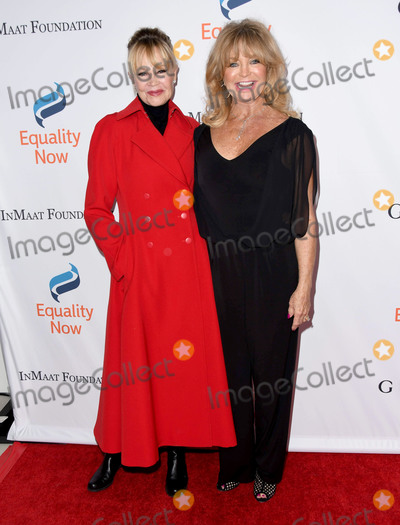 Goldie, Goldie Hawn, Melanie Griffith, Melanie Griffiths Photo - 03 December 2018 - Beverly Hills, California - Melanie Griffith, Goldie Hawn. Equality Now's 4th Annual 'Make Equality Reality' Gala held at The Beverly Hilton Hotel. Photo Credit: Birdie Thompson/AdMedia