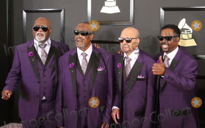 Alabama, Jimmy Carter, Grammy Awards Photo - 12 February 2017 - Los Angeles, California - Jimmy Carter, Ben Moore, Eric Ricky McKinnie, Paul Beasley, The Blind Boyd of Alabama. 59th Annual GRAMMY Awards held at the Staples Center. Photo Credit: AdMedia