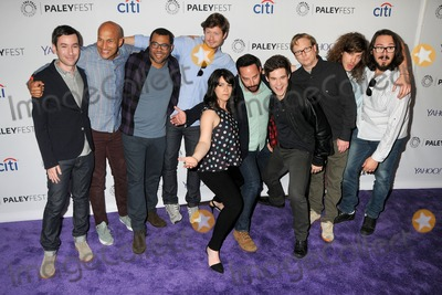 Keegan Michael Key, Nick Kroll, Vines, Jordan Peele, Blake Anderson, Anders Holm, Keegan-Michael Key, Kyle Newacheck, Abbi Jacobson, Andy Daly, Andy Greenwald, Keegan Michael-Key Photo - 7 March 2015 - Hollywood, California - Andy Greenwald, Keegan-Michael Key, Jordan Peele, Anders Holm, Abbi Jacobson, Nick Kroll, Adam DeVine, Andy Daly, Blake Anderson, Kyle Newacheck. PaleyFest 2015 - Salute To Comedy Central held at the Dolby Theatre. Photo Credit: Byron Purvis/AdMedia