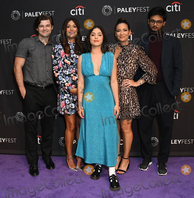 "Constance Marie, Angelique Cabral, Kevin Bigley, Angelique  Cabral, Siddharth Dhananjay, Rosa Salazar, Teairra Marí Photo - 06 September 2019 - Beverly Hills, California - Kevin Bigley, Angelique Cabral, Rosa Salazar, Constance Marie, Siddharth Dhananjay. The Paley Center For Media's 2019 PaleyFest Fall TV Previews - ""Undone"" held at The Paley Center for Media. Photo Credit: Birdie Thompson/AdMedia"