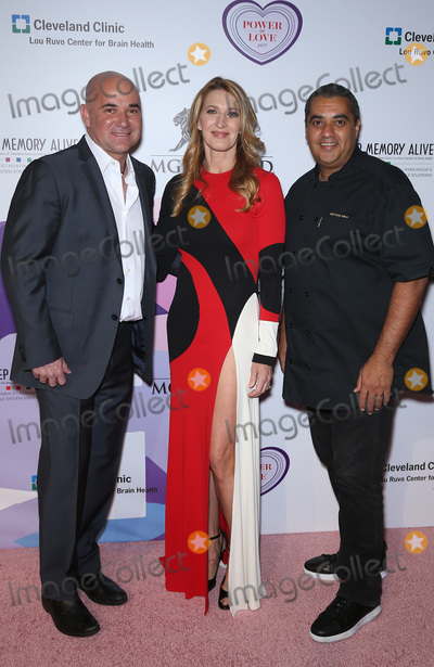 Andre Agassi, Steffi Graf Photo - 27 April 2017 - Las Vegas, NV -   Andre Agassi, Steffi Graff, Michael Mina. Keep Memory Alive's 21st Annual Power of Love Gala at MGM Grand Garden Arena.  Photo Credit: MJT/AdMedia