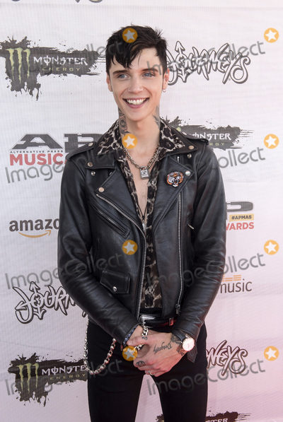 Andy Biersack, Andy Black Photo - 18 July 2016 - Columbus, Ohio - Andy Black attends the Alternative Press Music Awards 2016 held at Jerome Schottenstein Center. Photo Credit: Jason L Nelson/AdMedia