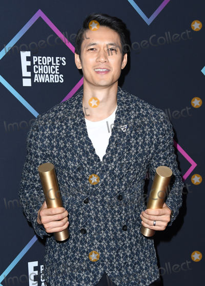 Harry Shum, Harry Shum Jr., Harry Shum, Jr. Photo - 11 November 2018 - Santa Monica, California - Harry Shum Jr. . 2018 E! People's Choice Awards - Press Room held at Barker Hangar. Photo Credit: Birdie Thompson/AdMedia
