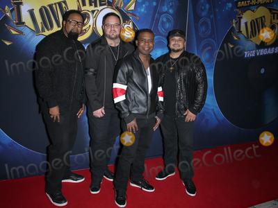 All 4 One, Pepa, Salt 'n' Pepa, Salt-N-Pepa Photo - 25 October 2018 - Las Vegas, NV -  All-4-One.  Salt-N-Pepa's I LOVE THE 90's- THE VEGAS SHOW Red Carpet Premiere at Paris Las Vegas. Photo Credit: MJT/AdMedia