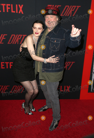 """Bella Thorne Photo - 18 March 2019 - Hollywood, California - Bella Thorne, Guest. Netflix's """"The Dirt"""" World Premiere held at The Wolf Theatre at The ArcLight Cinemas Cinerama Dome. Photo Credit: Faye Sadou/AdMedia"""