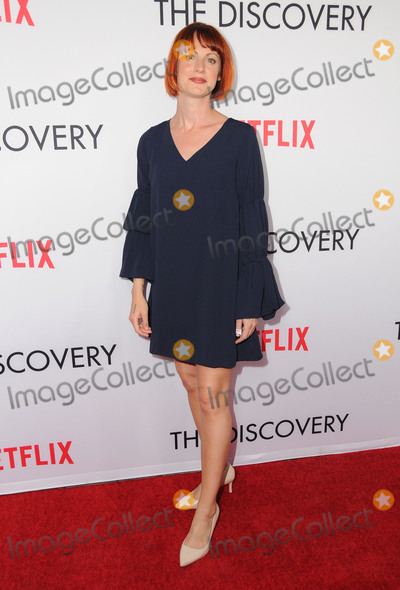 "Alexis Mixter Photo - 29 March 2017 - Los Angeles, California - Alexis Mixter.  Premiere Of Netflix's ""The Discovery"" held at The Vista Theater in Los Angeles. Photo Credit: Birdie Thompson/AdMedia"