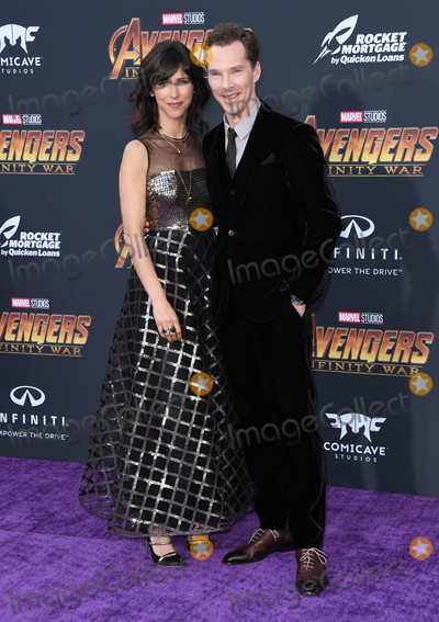 """Benedict Cumberbatch Photo - 23 April 2018 -  Hollywood, California - Benedict Cumberbatch. Disney and Marvel's """"Avengers: Infinity War"""" Los Angeles Premiere held at Dolby Theater. Photo Credit: Birdie Thompson/AdMedia"""