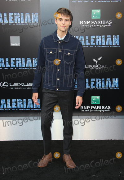 """Corey Fogelmanis, TCL Chinese Theatre Photo - 17 July 2017 - Hollywood, California - Corey Fogelmanis. """"Valerian and the City of a Thousand Planets"""" World Premiere held at TCL Chinese Theatre. Photo Credit: AdMedia. Photo Credit: F. SadouAdMedia"""