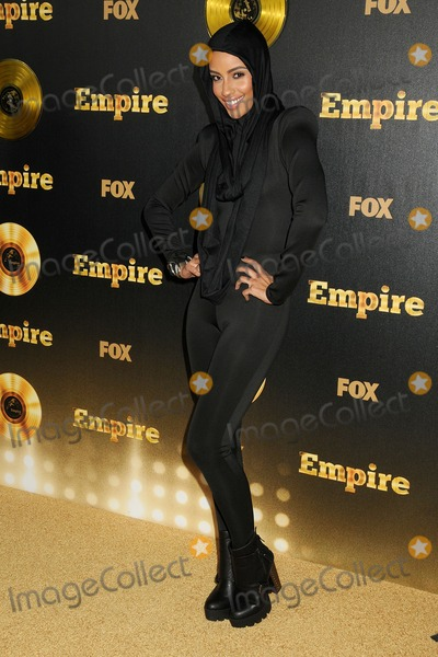 "AzMarie Livingston, Teairra Marí Photo - 6 January 2015 - Hollywood, California - AzMarie Livingston. ""Empire"" Los Angeles Premiere held at the Cinerama Dome. Photo Credit: Byron Purvis/AdMedia"