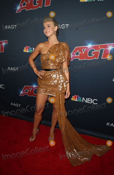 "Julianne Hough Photo - 13 August 2019 - Hollywood, California - Julianne Hough. ""America's Got Talent"" Season 14 Live Show Red Carpet held at Dolby Theatre. Photo Credit: FSadou/AdMedia"