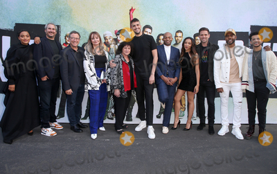 "Brandon Victor Dixon, Michael Greif, Jordan Fisher, Kiersey Clemons, Brennin Hunt, Julie Larson, Angela Wendt, Adam Siegel, Jason Sherwood, Michael Bublé, Michael Paré Photo - 2 June 2019 - Los Angeles, California - Kiersey Clemons, Adam Siegel, Michael Greif, Julie Larson, Angela Wendt, Jason Sherwood, Brandon Victor Dixon, Tinashe, Brennin Hunt, Mario, Jordan Fisher. FYC Event For Fox's ""Rent: Live"" held at Darryl Zanuck Theater at FOX Studios. Photo Credit: Faye Sadou/AdMedia"