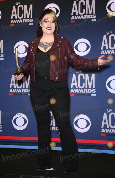 Ashley McBryde Photo - 07 April 2019 - Las Vegas, NV - Ashley McBryde. 54th Annual ACM Awards Press Room at MGM Grand Garden Arena. Photo Credit: MJT/AdMedia