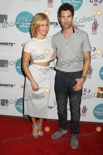 Amy Paffrath, Drew Seeley, Hollies Photo - 14 August 2014 - Hollywood, California - Amy Paffrath, Drew Seeley. 10th Annual HollyShorts Film Festival Opening Night Celebration held at the TCL Chinese Theater. Photo Credit: Byron Purvis/AdMedia