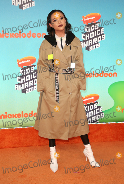 Breanna Yde Photo - 23 March 2019 - Los Angeles, California - Breanna Yde. 2019 Nickelodeon Kids' Choice Awards held at The USC Galen Center. Photo Credit: Faye Sadou/AdMedia