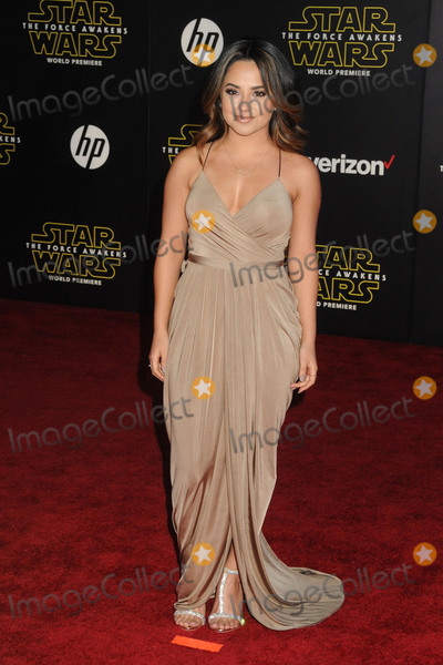 "Becky G, G STAR, Becky G. Photo - 14 December 2015 - Hollywood, California - Becky G. ""Star Wars: The Force Awakens"" Los Angeles Premiere held at multiple theaters on Hollywood Blvd. Photo Credit: Byron Purvis/AdMedia"