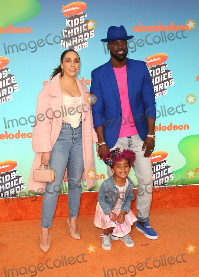 Lance Gross Photo - 23 March 2019 - Los Angeles, California - Rebecca Jefferson, Berkeley Brynn Gross, Lance Gross. 2019 Nickelodeon Kids' Choice Awards held at The USC Galen Center. Photo Credit: Faye Sadou/AdMedia
