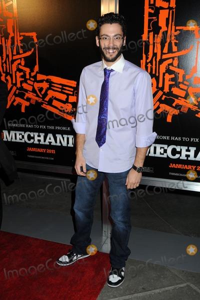 "Adam Tsekhman Photo - 25 January 2011 - Hollywood, California - Adam Tsekhman. ""The Mechanic"" Los Angeles Premiere held at Arclight Cinemas. Photo: Byron Purvis/AdMedia"