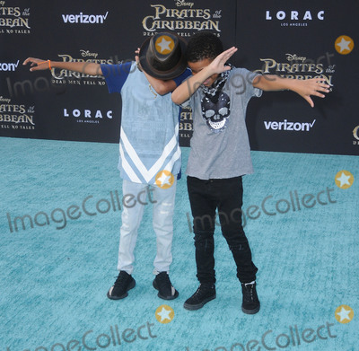 """Miles Brown, Lonnie Chavis Photo - 18 May 2017 - Hollywood, California - Miles Brown, Lonnie Chavis. Premiere Of Disney's """"Pirates Of The Caribbean: Dead Men Tell No Tales"""" at Dolby Theatre in Hollywood. Photo Credit: Birdie Thompson/AdMedia"""