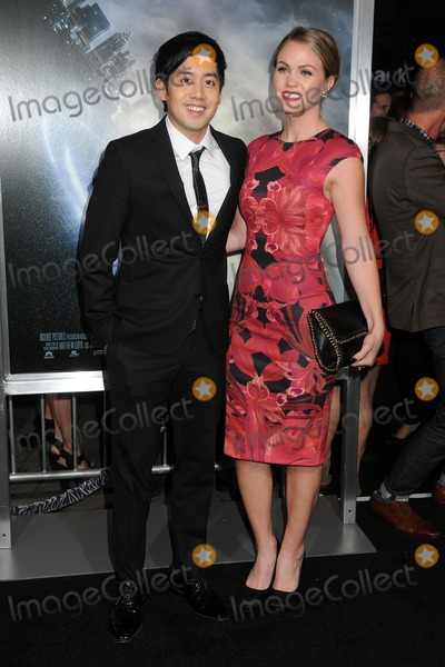 "Allen Evangelista, TCL Chinese Theatre Photo - 27 January 2015 - Hollywood, California - Allen Evangelista, Christina Burhoe. ""Project Almanac"" Los Angeles Premiere held at the TCL Chinese Theatre. Photo Credit: Byron Purvis/AdMedia"