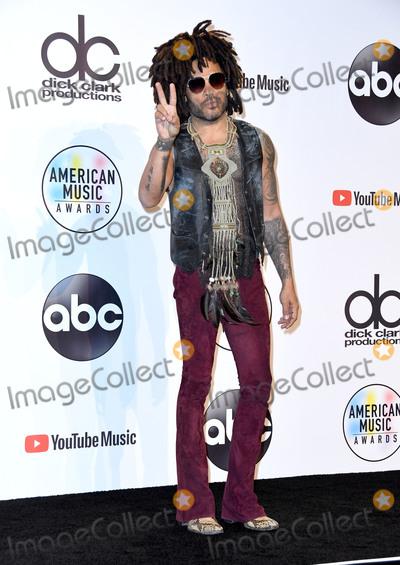 Lenny Kravitz Photo - 09 October 2018 - Los Angeles, California - Lenny Kravitz. 2018 American Music Awards - Press Room held at the Microsoft Theater. Photo Credit: Birdie Thompson/AdMedia