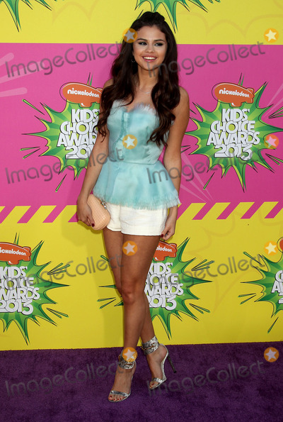 Selena Gomez, Gomez Photo - 23 March 2013 - Los Angeles, California - Selena Gomez. Nickelodeon's 26th Annual Kids' Choice Awards held at USC Galen Center. Photo Credit: Russ Elliot/AdMedia