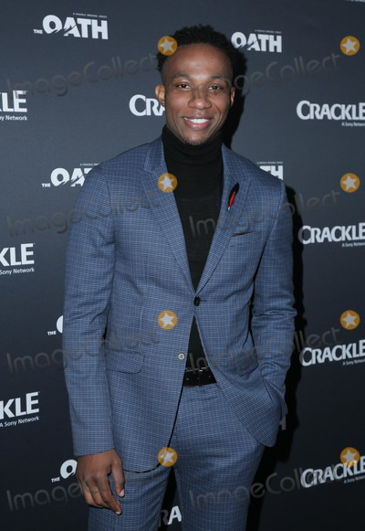 Arlen Escarpeta Photo - 07 March 2018 - Culver City, California - Arlen Escarpeta. Premiere Of Crackle's 'The Oath' held at Sony Pictures Studios. Photo Credit: PMA/AdMedia