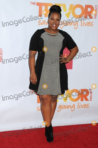 Amber Riley Photo - 8 December 2013 - Hollywood, California - Amber Riley. 15th Annual TrevorLive Los Angeles Benefit held at The Hollywood Palladium. Photo Credit: Byron Purvis/AdMedia