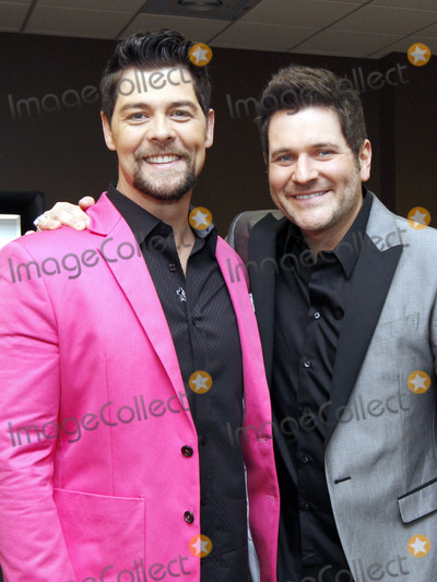 Jason Crabb, Jay DeMarcus, Rascal Flatts, Wayne Haun, Andy Andrews, Doves, Anna Maria Perez de Taglé, Hüsker Dü, Isaach De Bankolé Photo - March 6, 2013 - Gainesville, GA - Grammy and multiple Dove award winner Jason Crabb held a celebration at the Free Chapel Church in Gainesville, GA for the release of his latest album, Love Is Stronger. Crabb was joined by Rascall Flatts member Jay Demarcus, who co-produced the album with Wayne Haun, and best selling author and motivational speaker Andy Andrews. Photo credit: Dan Harr/AdMedia