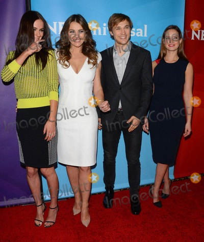 Elizabeth Hurley, William Moseley, Alexandra Park Photo - 15 January 2015 - Pasadena, California - Alexandra Park, Elizabeth Hurley, William Moseley, Merritt Patte. NBCUniversal 2015 TCA Press Tour held at The Langham Huntington Hotel. Photo Credit: Birdie Thompson/AdMedia
