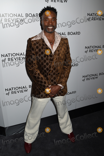Billy Porter, The National Photo - 08 January 2020 - New York, New York - Billy Porter at the National Board of Review Annual Awards Gala, held at Cipriani 42nd Street. Photo Credit: LJ Fotos/AdMedia