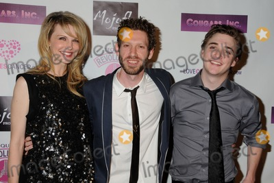 """Kathryn Morris, Kyle Gallner, Cougar, Asher Levin Photo - 31 March 2011 - Hollywood, California - Kathryn Morris, K. Asher Levin and Kyle Gallner. """"Cougars, Inc."""" Los Angeles Premiere held at the Egyptian Theater. Photo: Byron Purvis/AdMedia"""