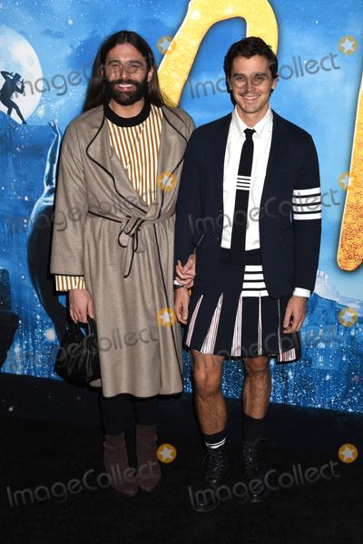 "Antoni Porowski Photo - 16 December 2019 - New York, New York - Jonathan Van Ness and Antoni Porowski at the World Premiere of ""CATS"" at Alice Tully Hall in Lincoln Center. Photo Credit: LJ Fotos/AdMedia"