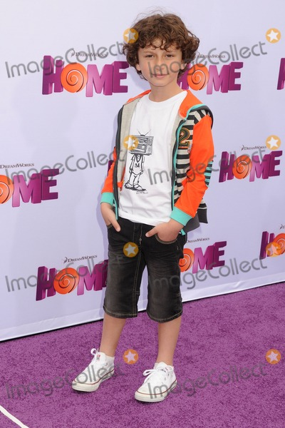 """August Maturo Photo - 22 March 2015 - Westwood, California - August Maturo. """"Home"""" Los Angeles Premiere held at the Regency Village Theatre. Photo Credit: Byron Purvis/AdMedia"""