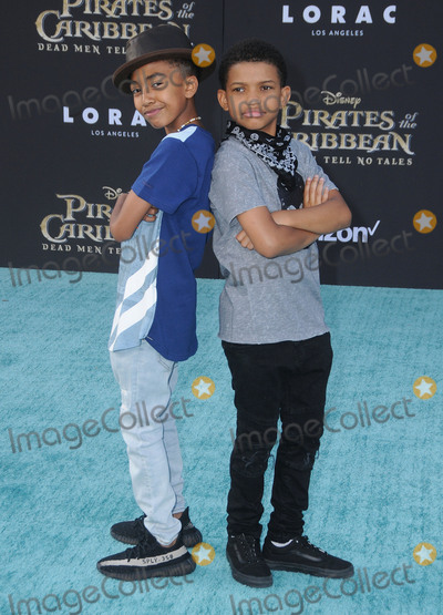 "Miles Brown, Lonnie Chavis Photo - 18 May 2017 - Hollywood, California - Miles Brown, Lonnie Chavis. Premiere Of Disney's ""Pirates Of The Caribbean: Dead Men Tell No Tales"" at Dolby Theatre in Hollywood. Photo Credit: Birdie Thompson/AdMedia"