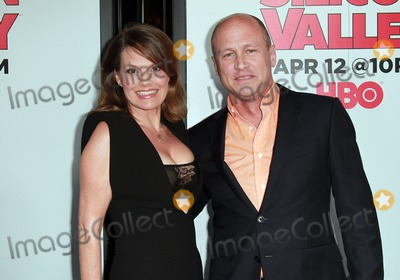 "Mike Judge, Suzanne Cryer Photo - 02 April 2015 - West Hollywood, California - Suzanne Cryer, Mike Judge attends Los Angeles Premiere for the second season of the HBO comedy series ""Silicon Valley"" held at the El Capitan Theatre. Photo Credit: Theresa Bouche/AdMedia"
