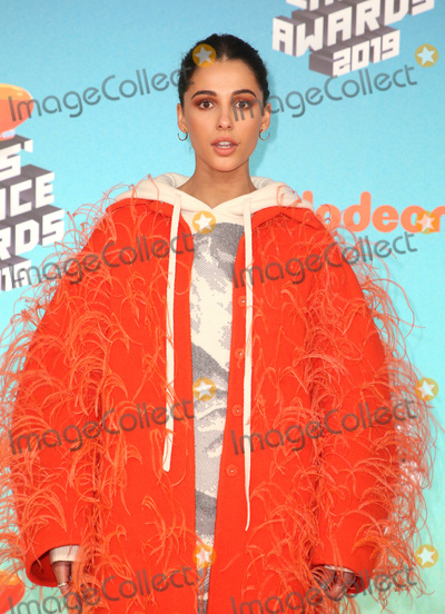 Naomi Scott Photo - 23 March 2019 - Los Angeles, California - Naomi Scott. 2019 Nickelodeon Kids' Choice Awards held at The USC Galen Center. Photo Credit: Faye Sadou/AdMedia