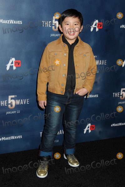 "Albert Tsai Photo - 14 January 2016 - Los Angeles, California - Albert Tsai. ""The 5th Wave"" Los Angeles Premiere held at Pacific Theatres At The Grove. Photo Credit: Byron Purvis/AdMedia"