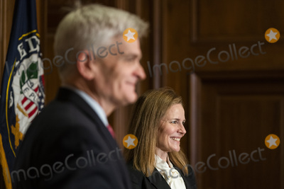 Cassidy, Supremes, The Used, President Trump, Bill Cassidy, Supreme Court Photo - Judge Amy Coney Barrett (R), President Trump's nominee for associate justice of the US Supreme Court, meets with Republican Senator from Louisiana Bill Cassidy (L) in the US Capitol in Washington, DC, USA, 01 October 2020. Supreme Court Nominee Judge Amy Coney Barrett is meeting individually with Senators this week prior to her confirmation hearings, scheduled to start 12 October.