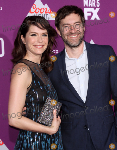 Mark Duplass, Katie Aselton, Grauman's Chinese Theatre, Teairra Marí Photo - 1 March 2017 - Los Angeles, California - Katie Aselton with husband Mark Duplass. FXs Feud: Bette and Joan Premiere held at the Graumans Chinese Theatre. Photo Credit: AdMedia