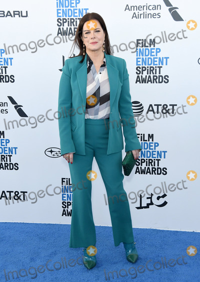 Marcia Gay Harden, Gay Harden Photo - 23 February 2019 - Santa Monica, California - Marcia Gay Harden. 2019 Film Independent Spirit Awards - Arrivals held at the Santa Monica Pier. Photo Credit: Birdie Thompson/AdMedia