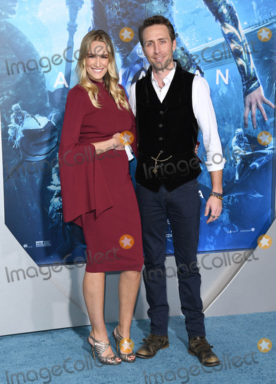 """Cousteau, Philippe Cousteau, Ashlan Cousteau, TCL Chinese Theatre Photo - 12 December 2018 - Hollywood, California - Ashlan Cousteau, Philippe Cousteau. """"Aquaman"""" Los Angeles Premiere held at TCL Chinese Theatre. Photo Credit: Birdie Thompson/AdMedia"""