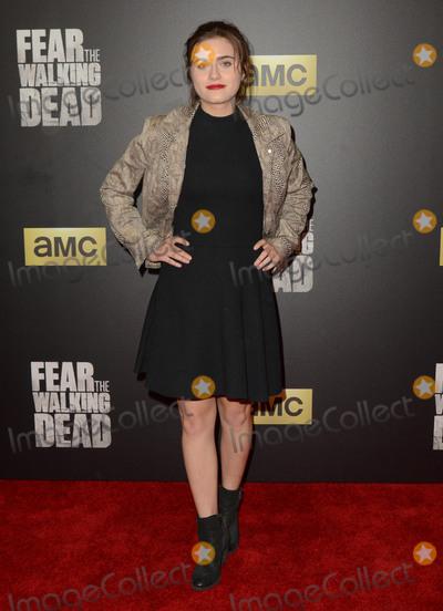 "Ally Ioannides Photo - 29 March 2016 - Los Angeles, California - Ally Ioannides. AMC's ""Fear The Walking Dead"" Season 2 Premiere held at Cinemark Playa Vista. Photo Credit: Birdie Thompson/AdMedia"