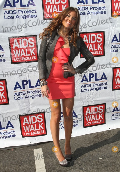 Raquel Castaneda Photo - 16 October 2011 - West Hollywood, California - Raquel Castaneda. 27th Annual AIDS Walk Los Angeles 2011. Photo Credit: Kevan Brooks/AdMedia