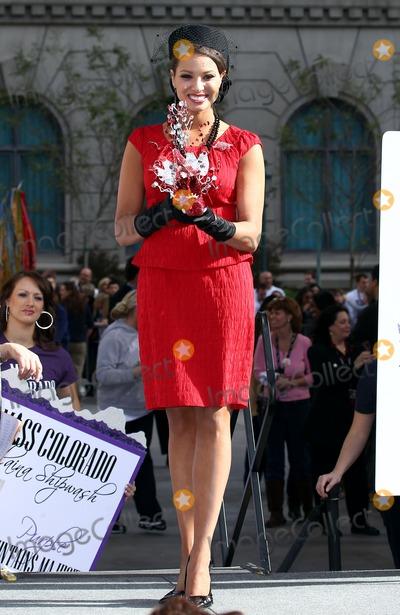 Photo - 14 January 2011 - Las Vegas, Nevada - Miss Arkansas Alyse Eady.  Miss America 2011 DSW Shoe Parade at Paris Resort Hotel and Casino. Photo: MJT/AdMedia