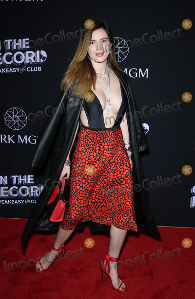 Bella Thorne Photo - 19 January 2019 - Las Vegas, NV -  Bella Thorne.  On The Record Grand Opening Red Carpet at Park MGM. Photo Credit: MJT/AdMedia